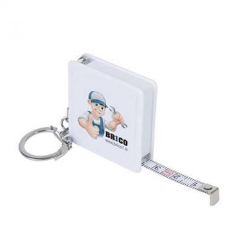 Porte-clés 1 m blanc