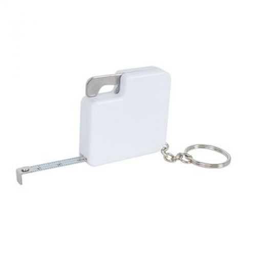 Porte-clés 1 mètre décapsuleur blanc