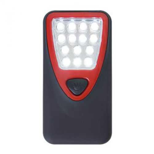 Lampe portative 14 LEDS noir/rouge