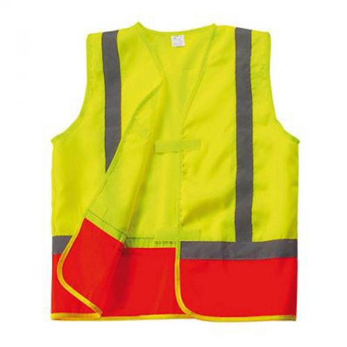 Gilet de sécurité enfant jaune/orange