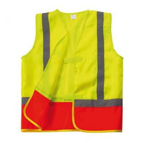 Gilet sécurité enfant jaune/orange