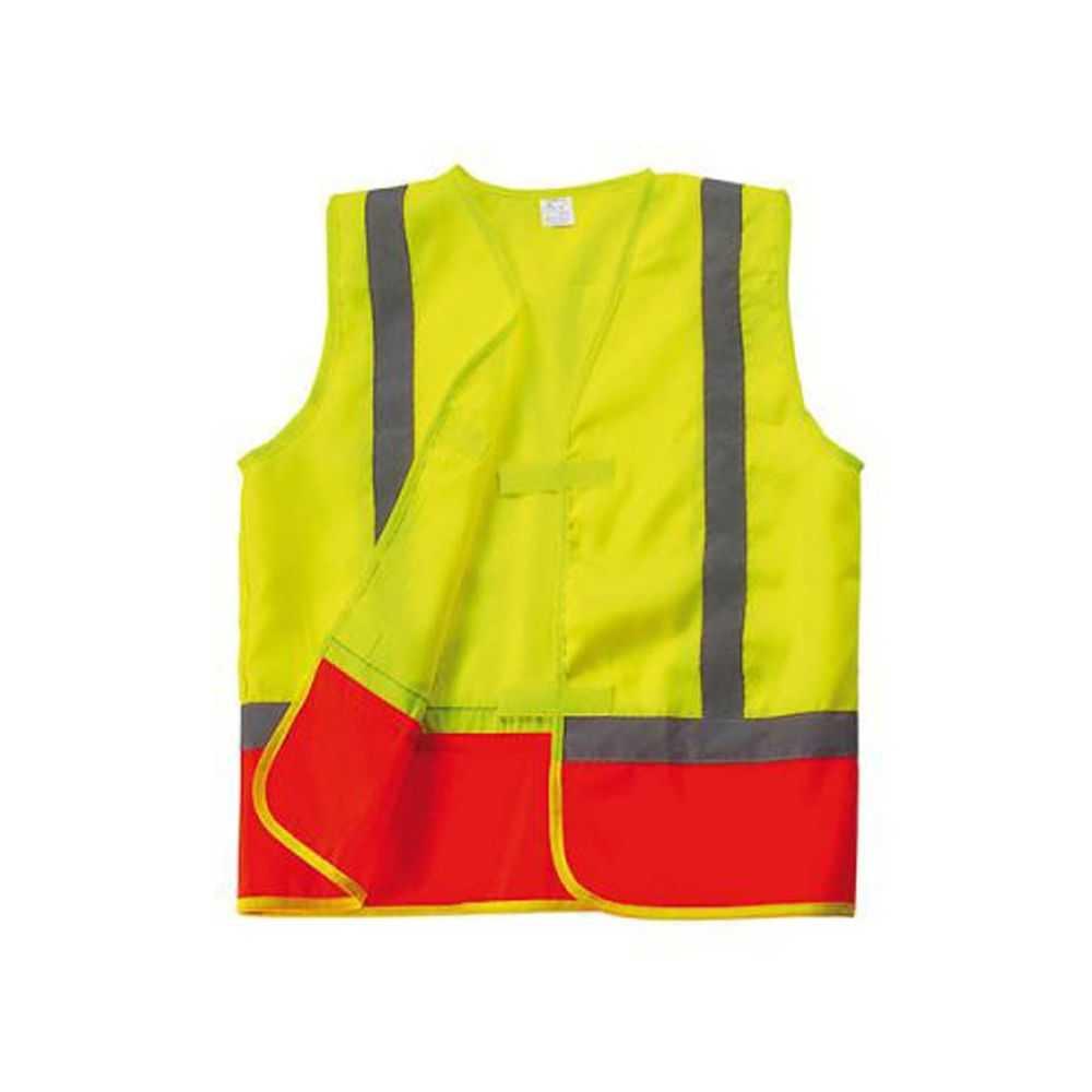le gilet de s curit enfant jaune orange de nos produits vestes personnalis s. Black Bedroom Furniture Sets. Home Design Ideas