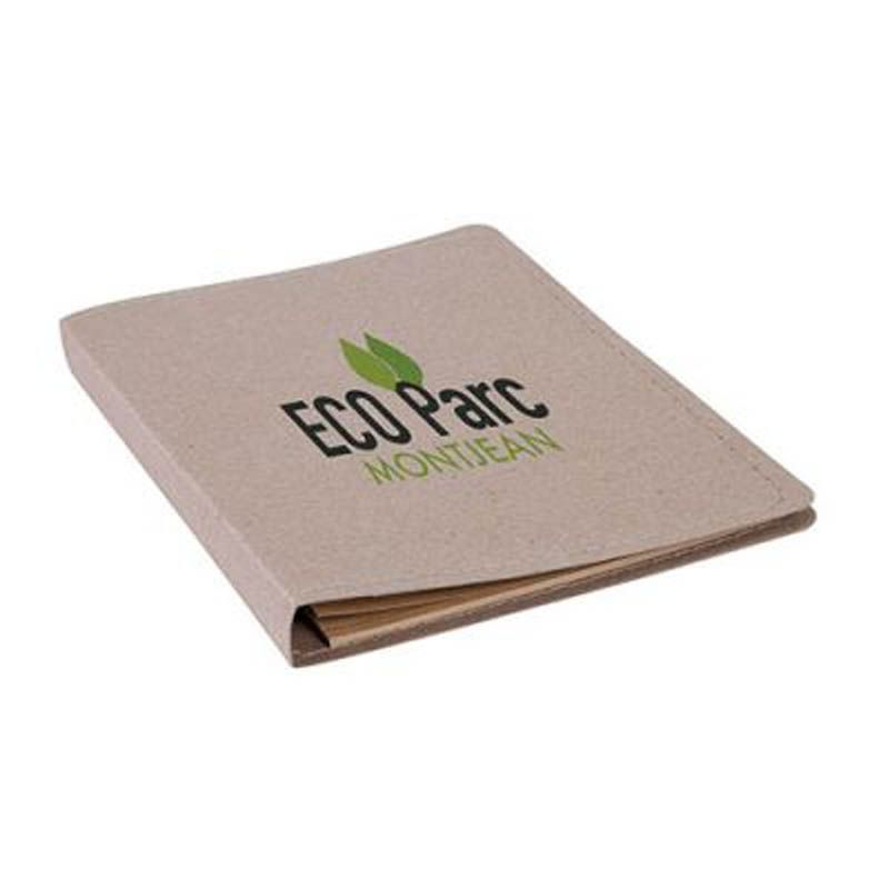 Conférencier A5 papier recyclé naturel