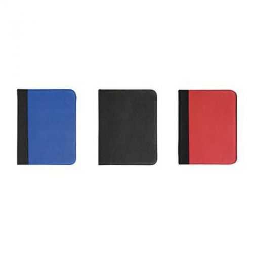 Conférencier A4 noir/bleu roi