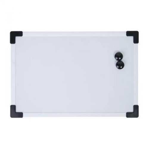 Tableau blanc avec 2 aimants blanc/noir