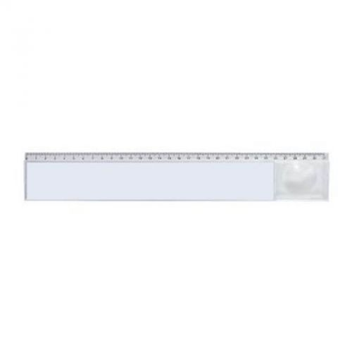 Règle loupe 31 cm transparente