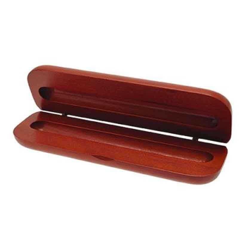 Boite parure bois 1 stylo bois clair
