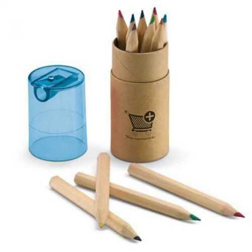 Boite 12 crayons couleurs naturel