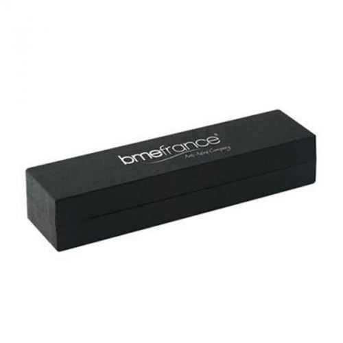 Parure stylo bille métal + gomme noir