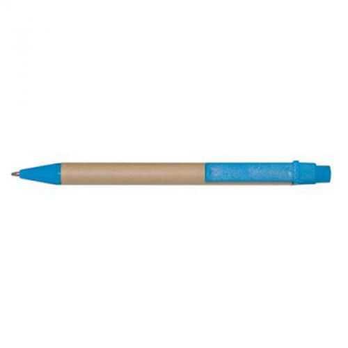 stylo bille turquoise