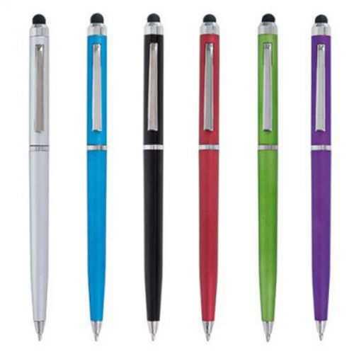 Stylus et stylo bille argent