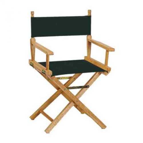 Chaise metteur en scène noir