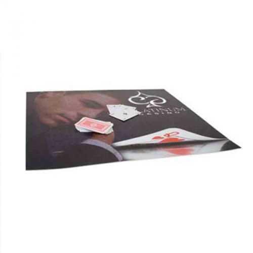 Tapis de carte en gomme blanc/gris