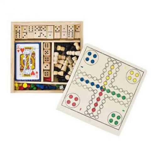 Set de jeux 5 en 1 bois