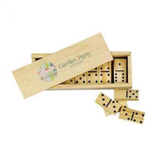 Jeu de domino bois