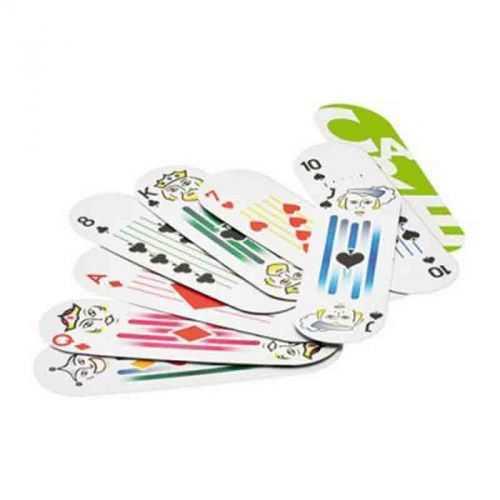 Jeux 54 cartes avec étui transparent