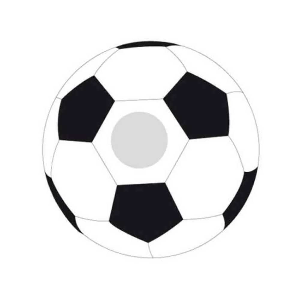Ballon Publicitaire De Football Blancnoir Pour Votre Marque