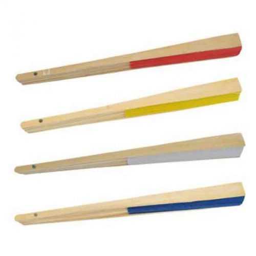 Eventail papier/bambou blanc
