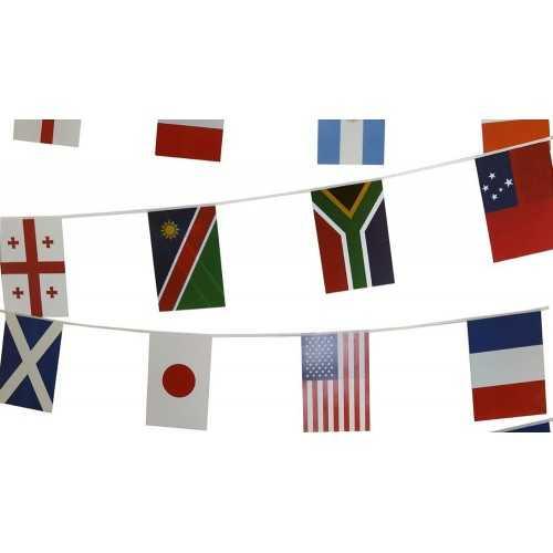 Guirlande de drapeaux personnalisables