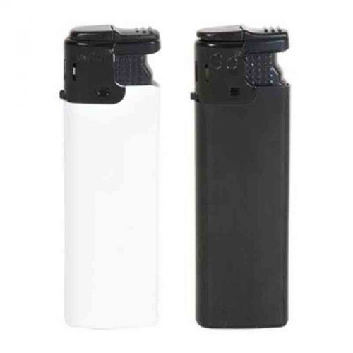Briquet turbo rechargeable blanc