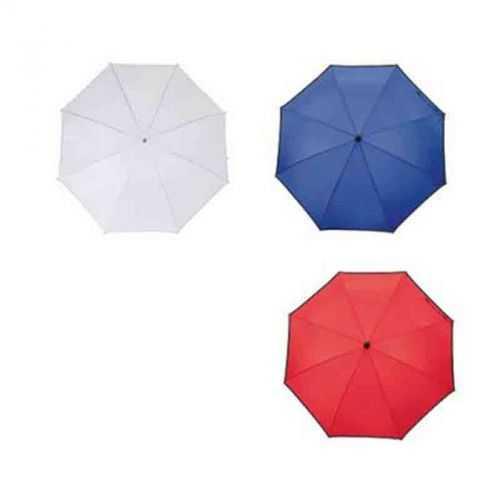 Parapluie golf blanc/gris