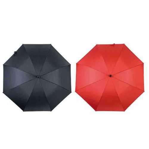 Parapluie tempête fibre verre noir