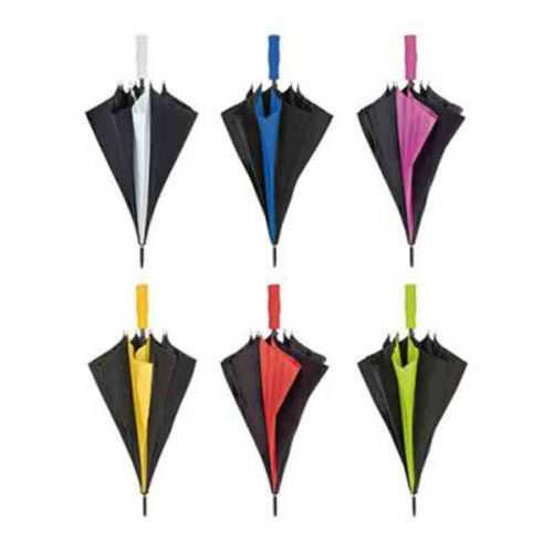 Parapluie golf noir/blanc