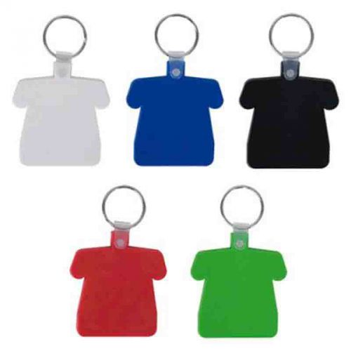 Porte-clés maillot souple blanc