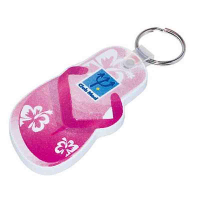 Porte-clés eva 0.5 cm 0-20 cm2 blanc