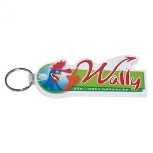 Porte-clés eva 0.5 cm 21-40 cm2 blanc