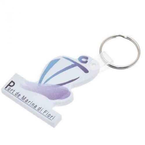 Porte-clés eva 0.5 cm 41-60 cm2 blanc