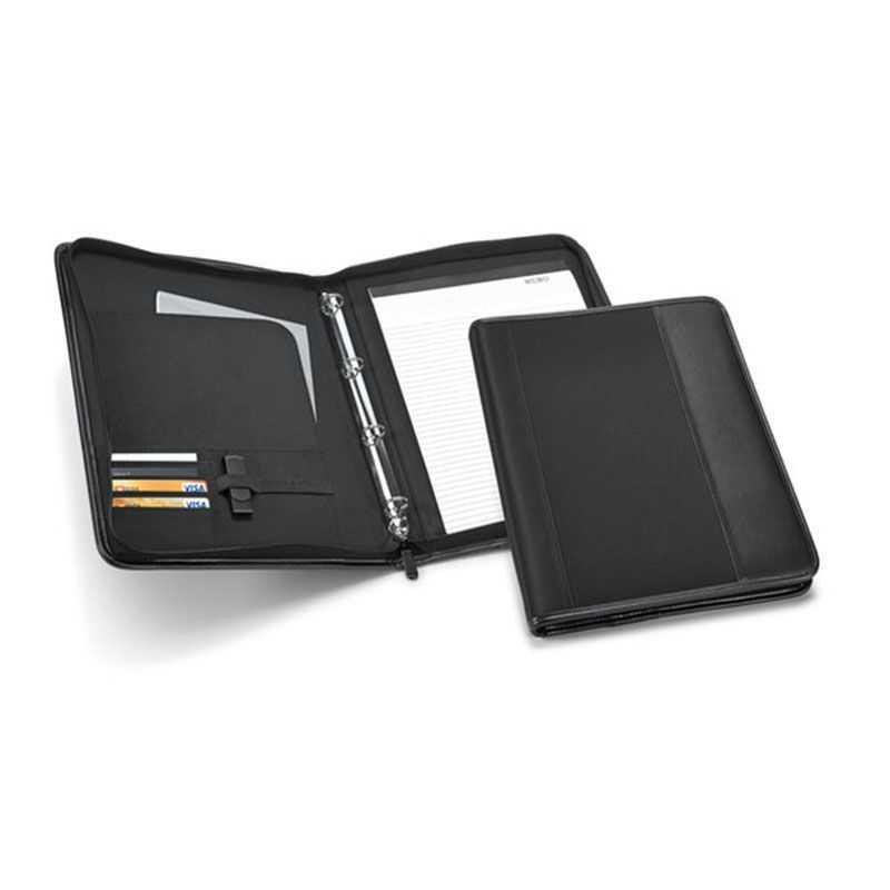 Conférencier A4 noir avec emplacement USB