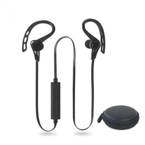 Écouteurs noir avec bluetooth