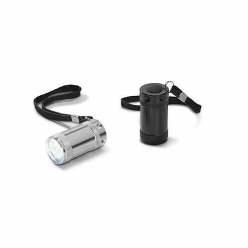 Lampe de poche aluminium 6 LEDS