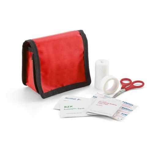 Kit premiers soins rouge
