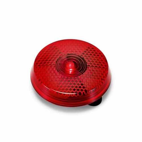 Lumière d'alerte rouge rond