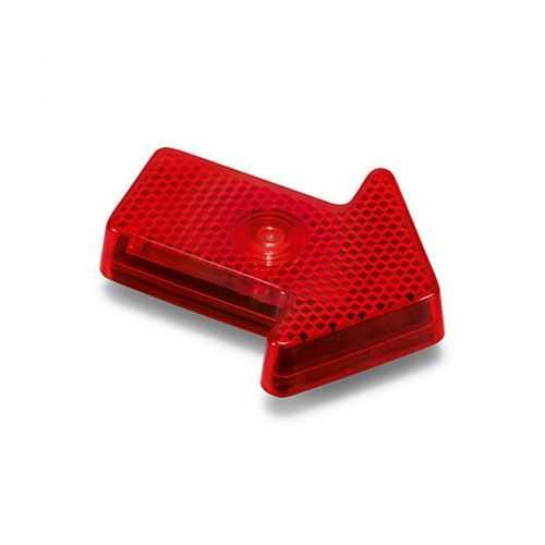 Lumière d'alerte flèche rouge