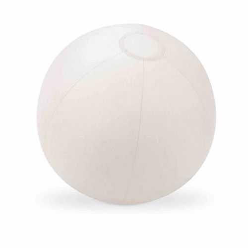 Ballon gonflable blanc PVC glacé