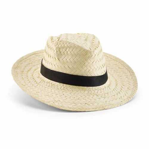 Chapeau personnalisé paille naturelle Ruban non inclus. Taille: 580 mm