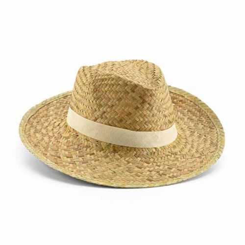Chapeau personnalisé paille Ruban non inclus. Taille: 580 mm