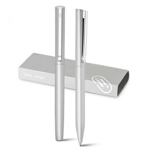 Set roller et stylo à bille en aluminium KLOS