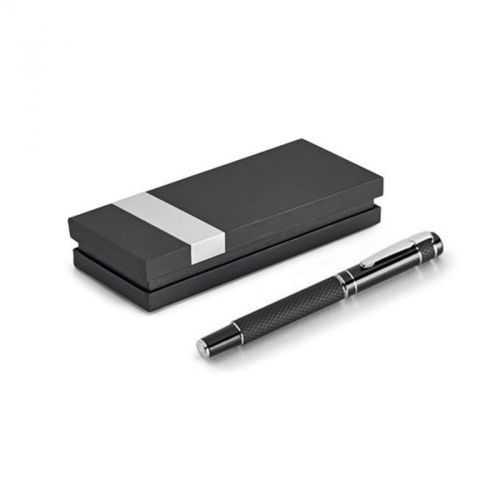 Coffret MOON stylo roller noir