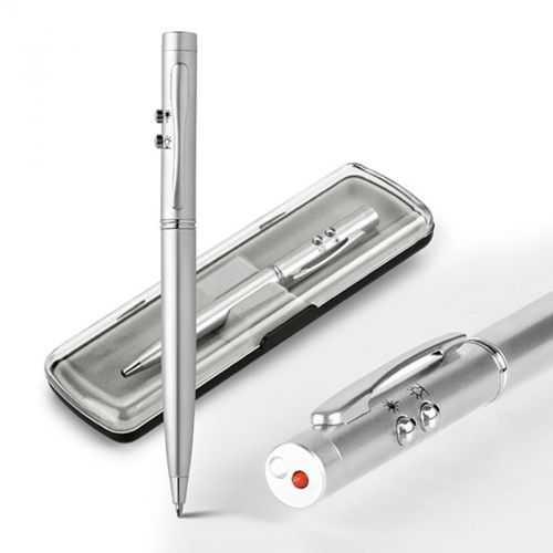 Coffret EBRE stylo à bille argenté