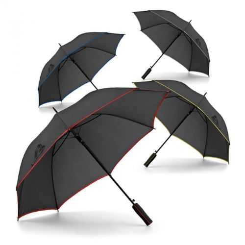 Parapluie avec bord coloré