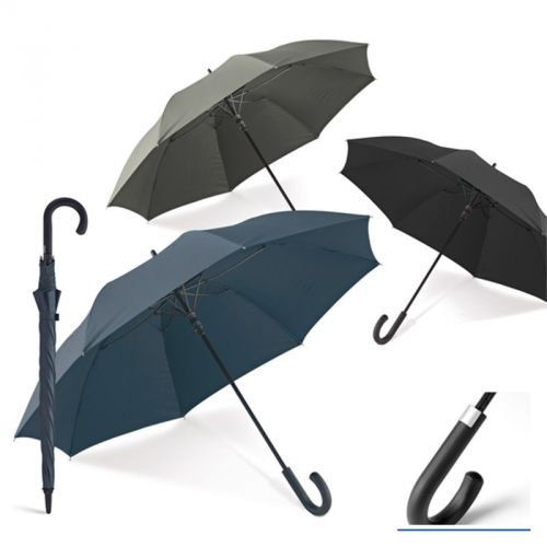 Parapluie avec finition caoutchoutée