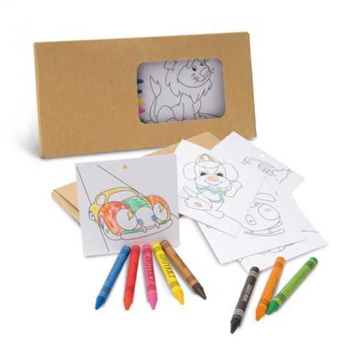 Set coloriage 8 crayons