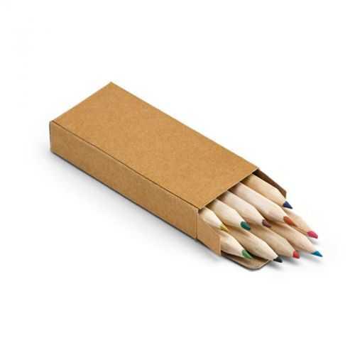 Boîte avec 10 crayons de couleur