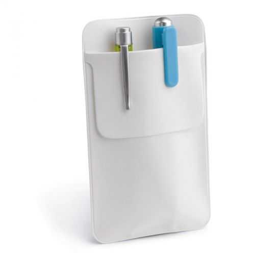 Étui blanc pour stylos
