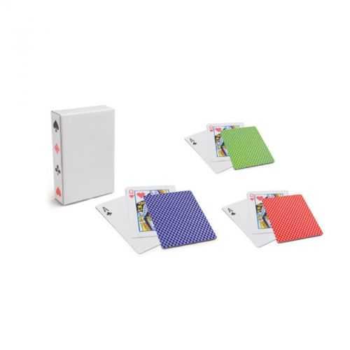 54 cartes plastifiées à jouer