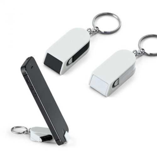 Porte-clés avec support téléphone